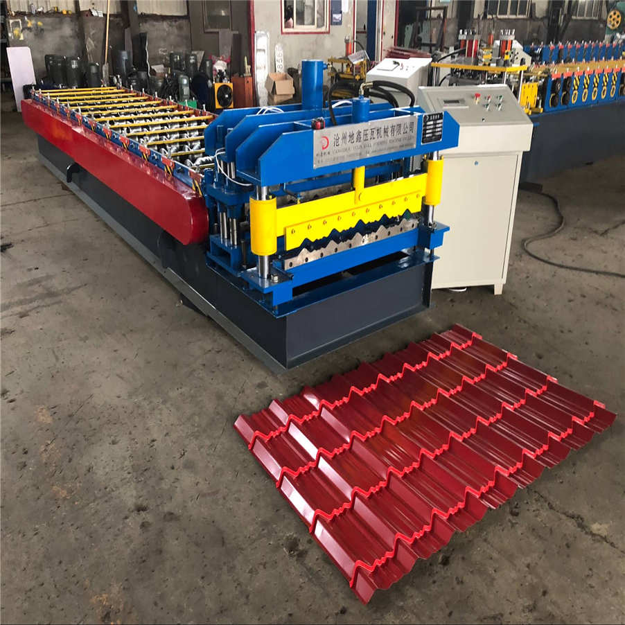 Steel Galvanized Roofing Construction Maufacturing Machine