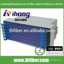 Marco de distribución de fibra óptica en rack