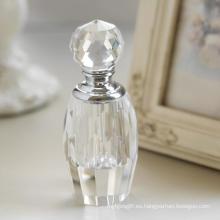 Botella de perfume de vidrio Crsytal de nuevo diseño (JD-XSP-617)