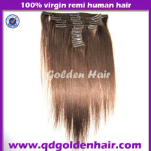 Golden Hair Hot Selling Cheap Price Large Stock Clip In Hair Extension