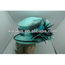 Hot selling sinamay kentucky derby hats