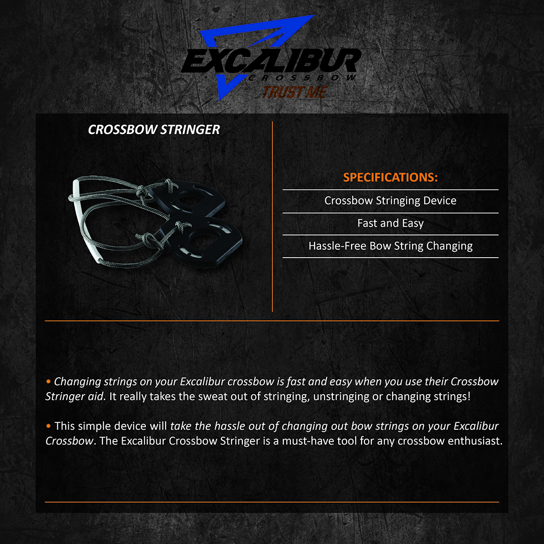 Excalibur_Crossbow_Stringer_Product_Description
