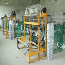 Full automatic chain link fence machine(factory)