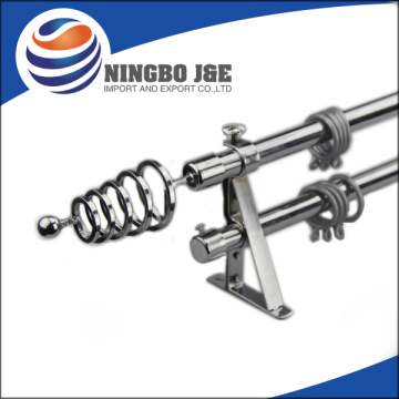Metal Curtain Pole With Metal Curtain Finial