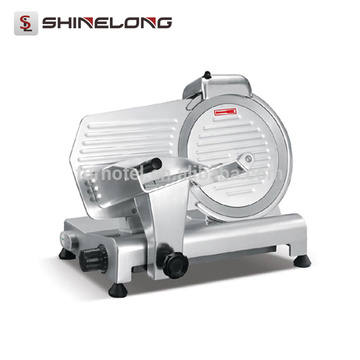 CE comercial / industrial Cortador de alimentos elétricos de aço inoxidável máquina de cortar carne manual
