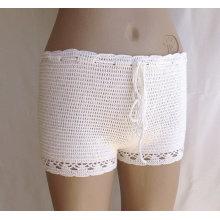 crochet cotton soft shorts lace Clothing summer wear