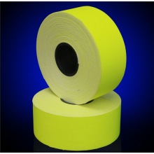 Cotton Flame Retardant Reflective Yellow Fabric