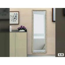 Ankleidespiegel des preiswerten stehenden silbernen Spiegelgroßhandels in voller Länge