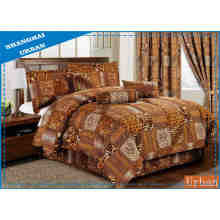4 PCS Leopard Print Duvet (Cover set)