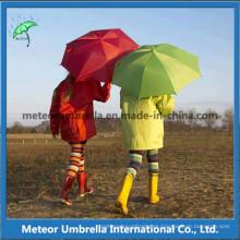 Plegable de la manera de la calidad embroma el paraguas de los niños para el uso del regalo de la promoción