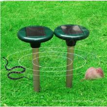 El ultrasónico al aire libre agita el repelente de serpiente del roedor del parásito del jardín de la energía solar del pulso