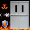 Indice de feu de 90mins double porte coupe-feu en acier