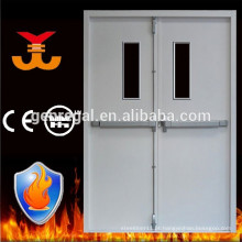90mins fogo classificação dupla porta de fogo de aço