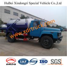 Dongfeng 5.25cbm Abwasser-Saug-Tankwagen