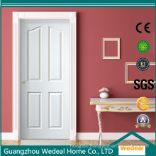 Oak Veneer Four Panel Composite Hollow Core MDF/HDF Door