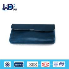 Синий кошелек из натуральной кожи PU