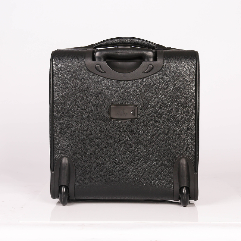 All color PU Trolley Luggage
