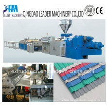 Plastic Board Machinery PVC Corrugated Roofing Board Extrusion Machinery