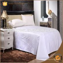 Satin Stripe Fabric Hotel Tissu pour faire de la literie