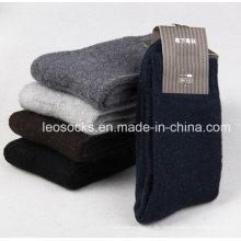 Klassisches Design Kleid Socken Merino Wolle Cashmere Socken Männer