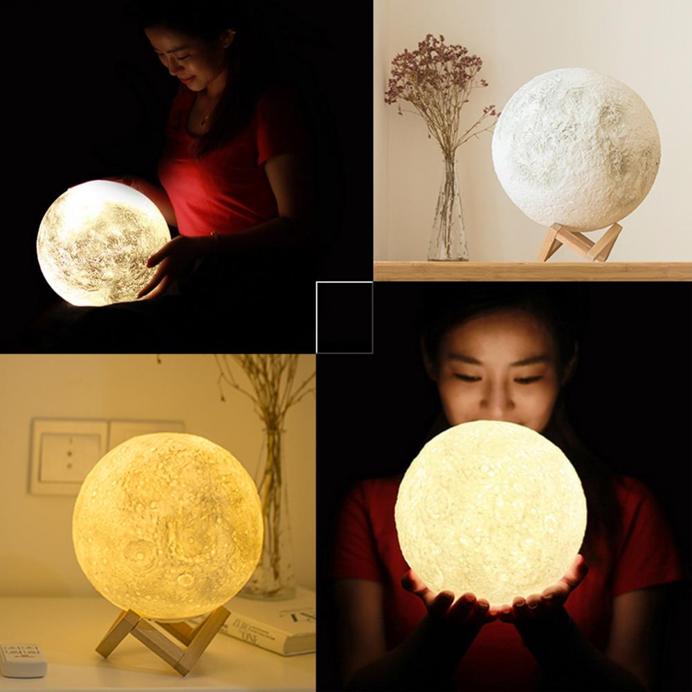 Moon Lamp Impression 3D