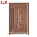 Porte galvanisée de porte en acier de porte de porte galvanisée