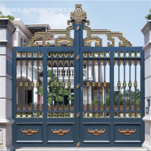 Aluminum Courtyard Entry Gates Design