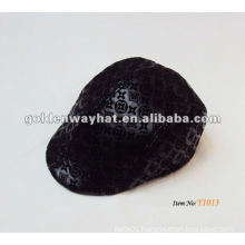 High quality leather Ivy hat