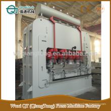 Paneles de muebles de prensa caliente de ciclo corto / máquina laminada de madera