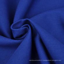 Tissu 100% coton tissé et vêtu
