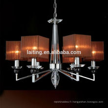 Éclairage accrochant moderne Lustre de Cristal Chandelier Décoration de mariage