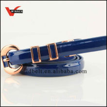 Durable PU belts for girls