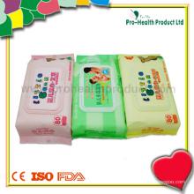 Очистка лица и рук Влажная салфетка для ребенка