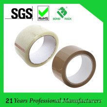 50m X 48mm X 40 Mic Brown / Clear Packing Tape
