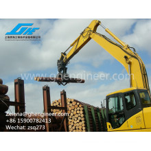 Ce-Approved Excavator Timber Grab