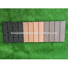 Waterproof interlocking WPC tiles