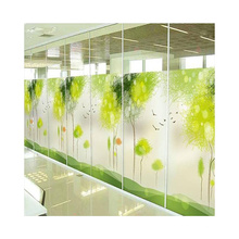 China manufacturer wear resisting customized pattern digital printing tempered glass