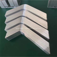 caloducs en aluminium appliqués dans les capteurs solaires