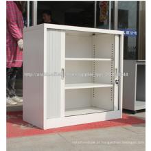 armário de armazenamento moderno da sapata do metal branco para a mulher