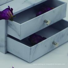 Kit de caixas de design de embalagem de pó facial