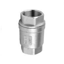 Stainless Steel Vertical Spring Loaded Check Valve, 1000wog
