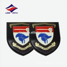 Placa del escudo conmemorativo placa de madera del premio con el soporte