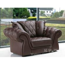 Faux Suede de tela de cuero de poliéster para sofá y muebles