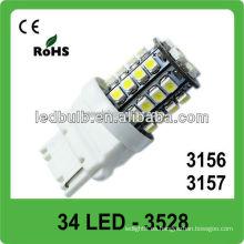 CE & ROHS aprobó la luz de parada llevada coche de DC12V 34 SMD 3528