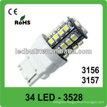CE&ROHS approved DC12V 34 SMD 3528 car led stop light