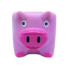 Nach Maß Plastik PVC Tier Schwein geformte Spielwaren