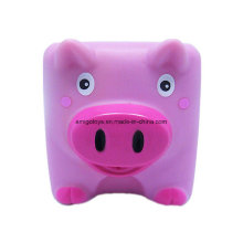 Custom Made Plastic PVC Animal Pig Shaped Toys
