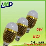 9W 2013 factory samsung chip smd5630 led bulb