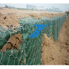 Caixas de Gabion para barragem / leito de rio, fio de aço galvanizado