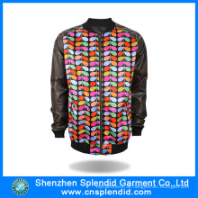 2016 Custom Design Bunte Fleece Jacke Made in China